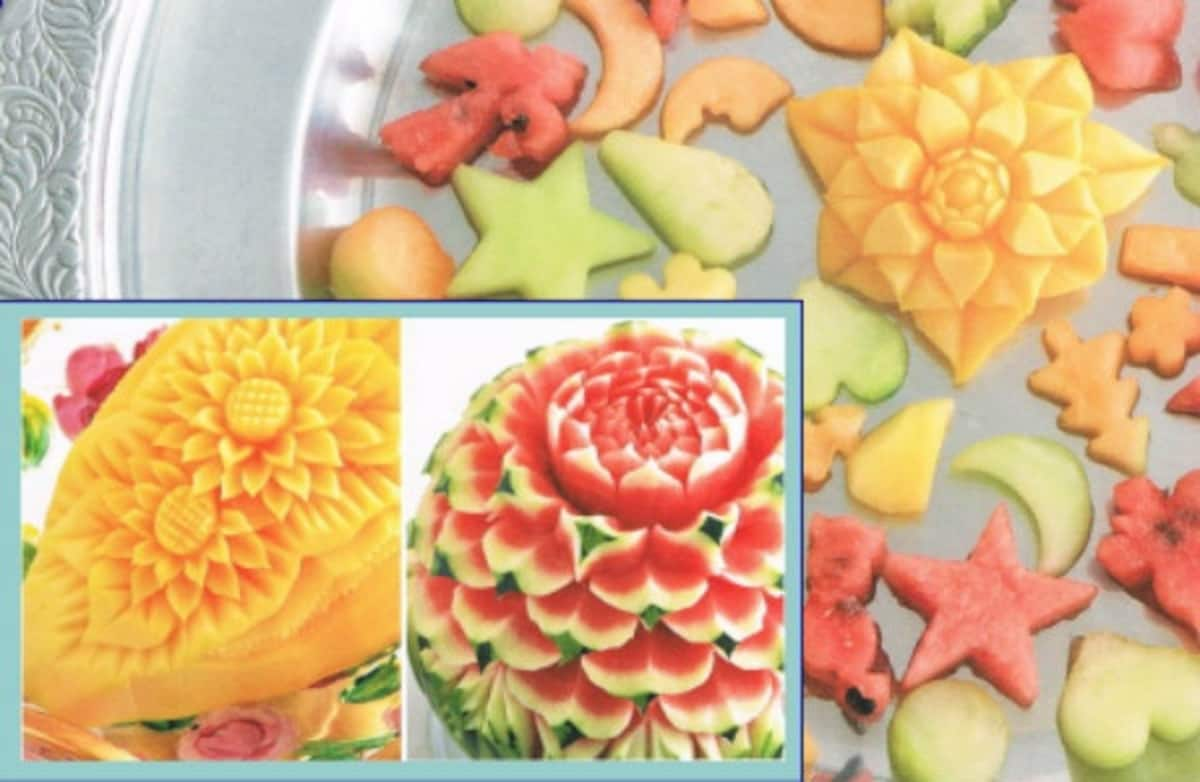 5. Fruit Carving in Tokyo