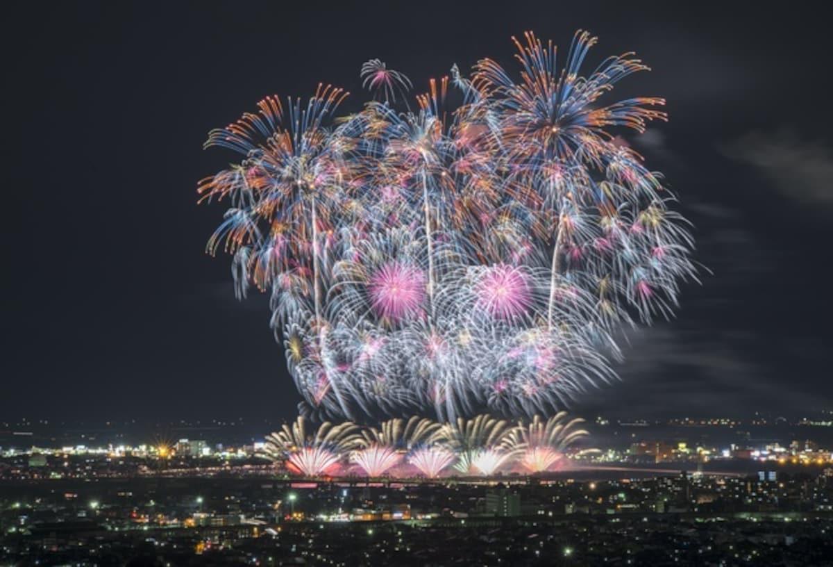 日本第一!新潟・長岡復興祭暨花火大會