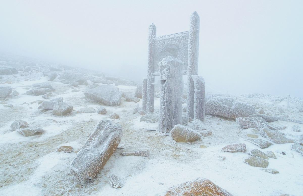5. Snow Trek in the Japanese Alps (Mount Kisokoma)