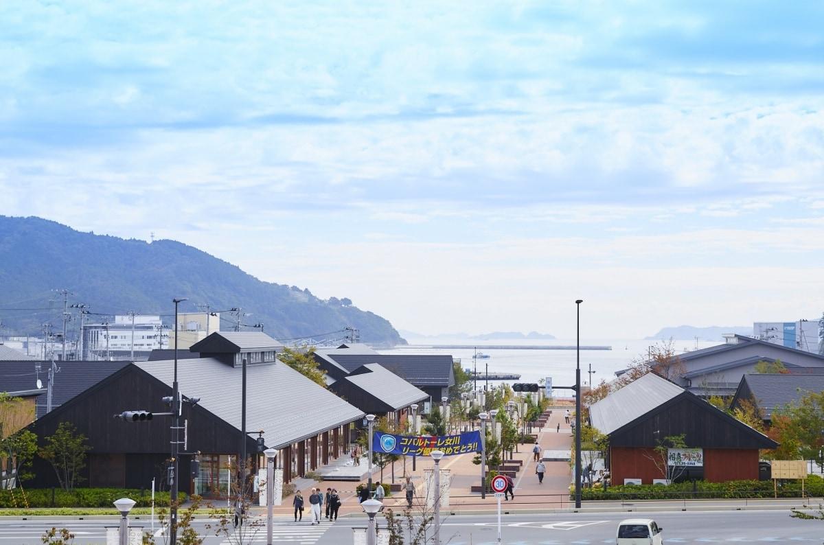 女川町復興的象徵「海珍珠港女川」