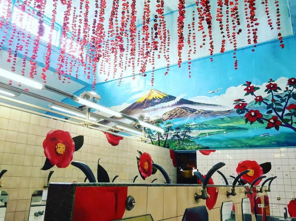 遥望晴空塔的绝美景致│押上温泉 大黑汤(Daikokuyu)