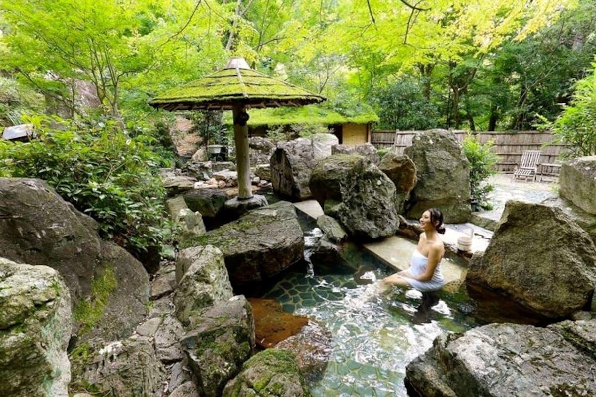 Fantastic onsen of Sumiya Kihoan