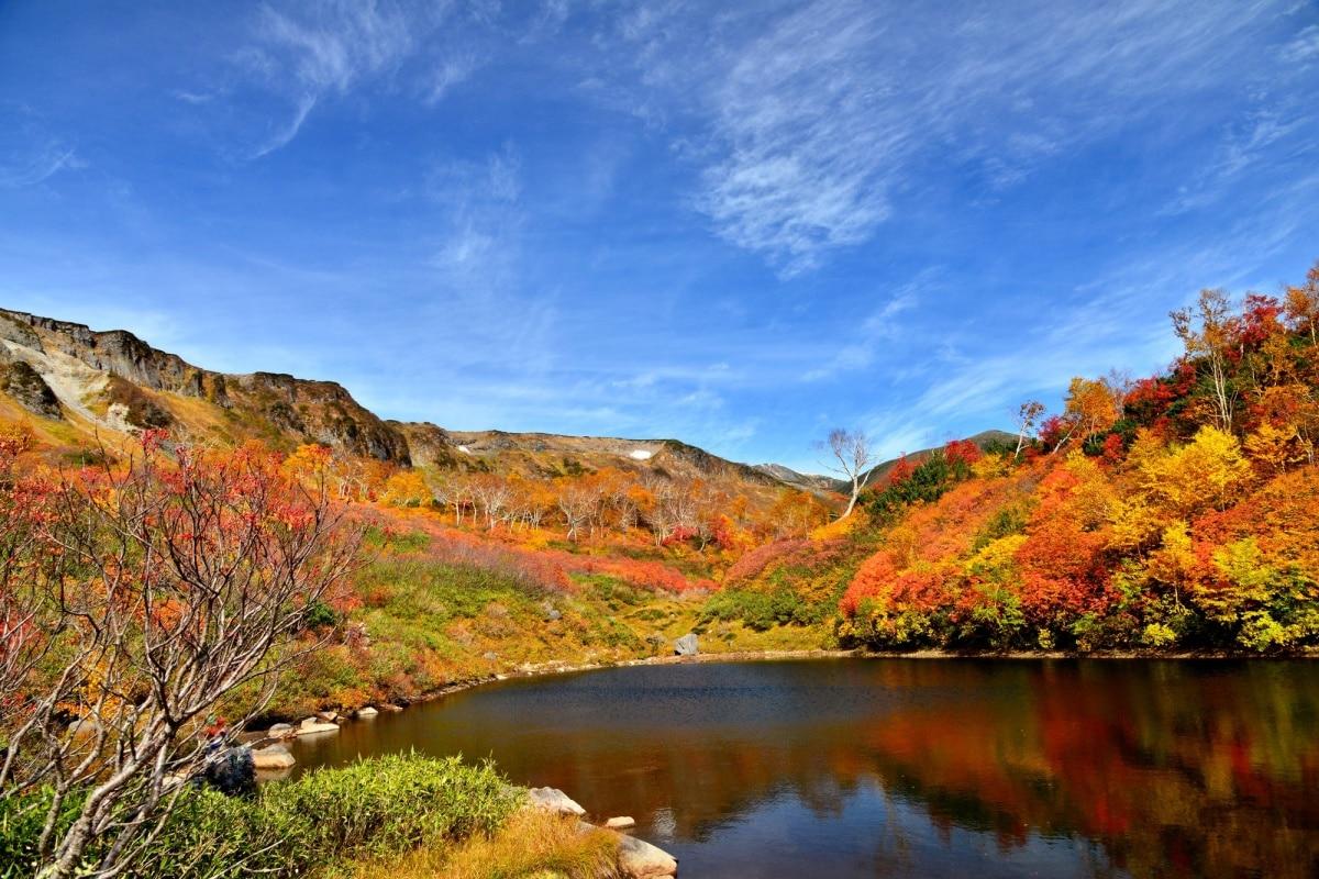 ④ 北海道 大雪山(黑岳)