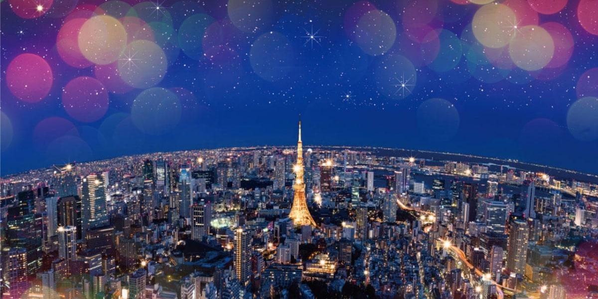整個天空都是我的聖誕節 六本木 Roppongi Hills 展望台 天空のクリスマス 2019