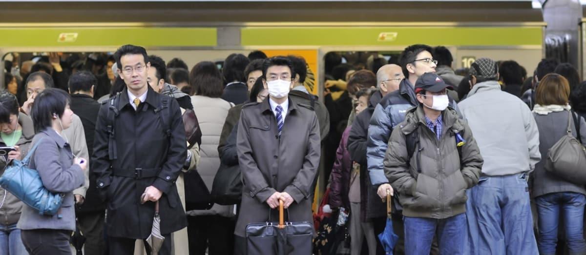 3. 満員電車 — Crowded Train