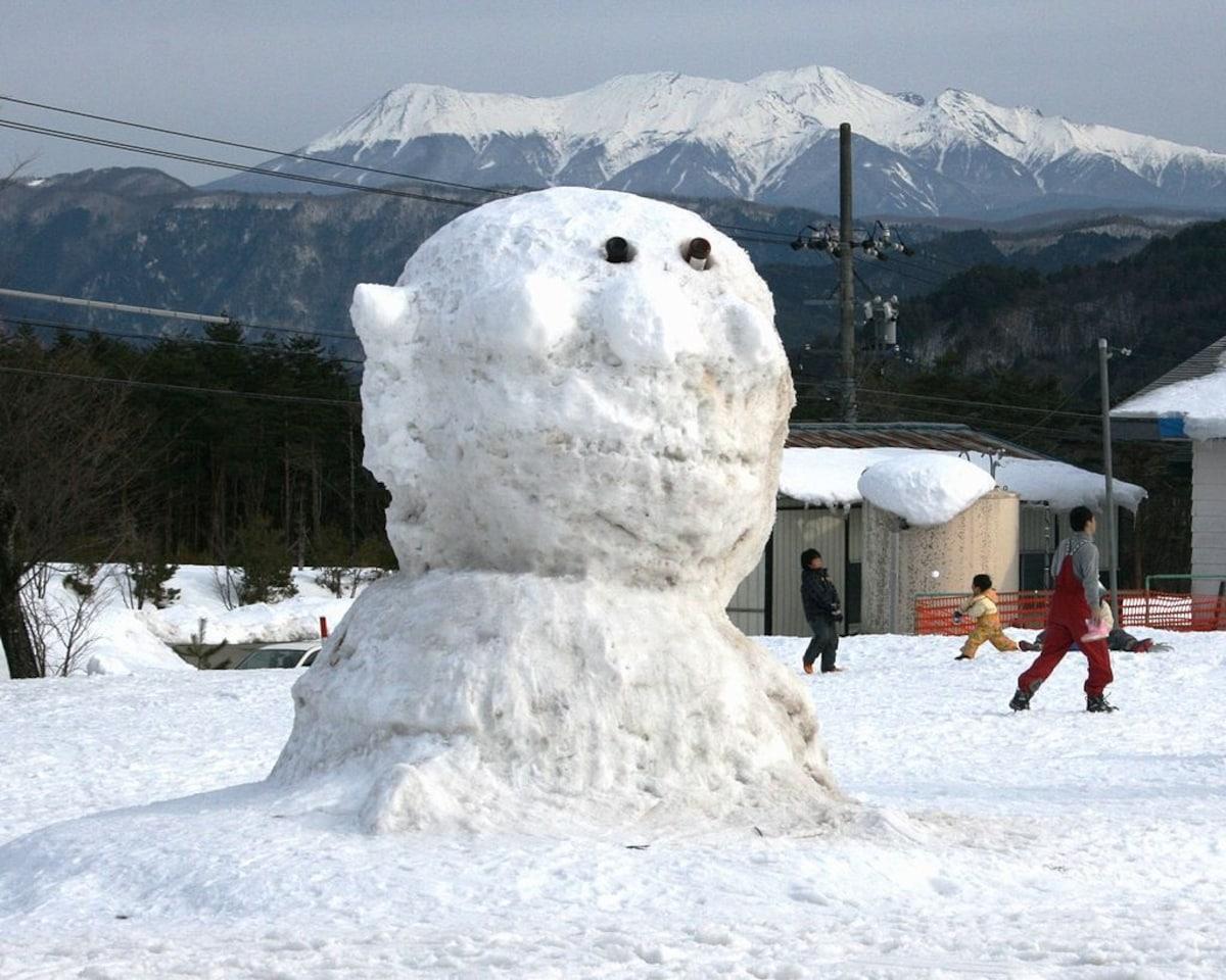 Yuki Daruma: Japanese Snowman