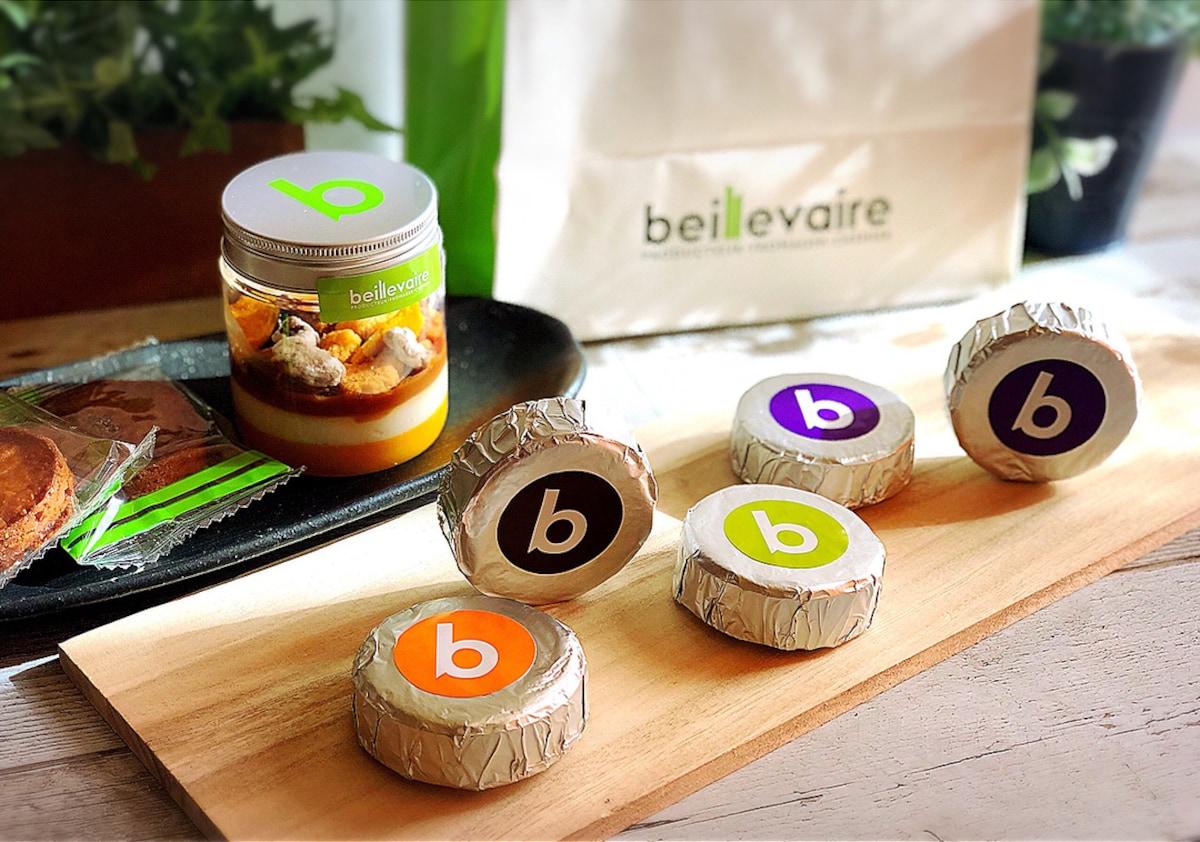 ▍麻布十番站:充滿奶油與起司的奢華甜點店「beillevaire」