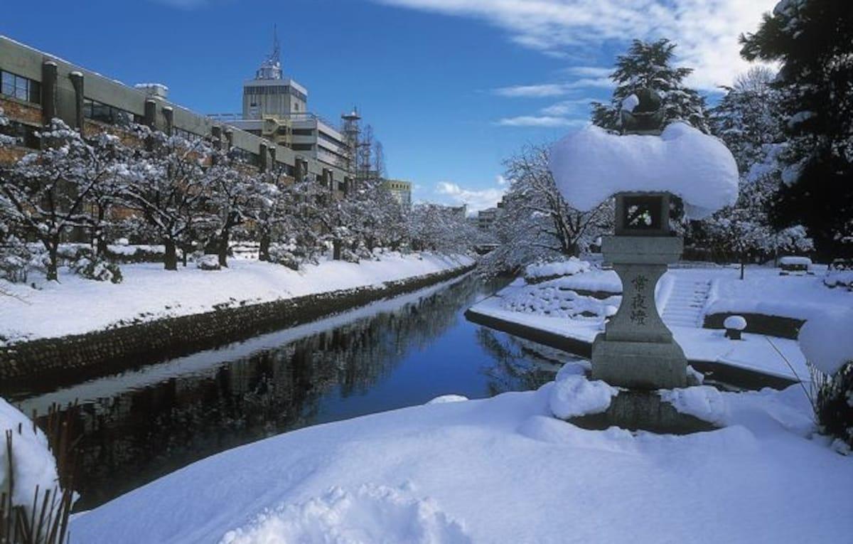 No. 3: Toyama City (or Yamagata City)