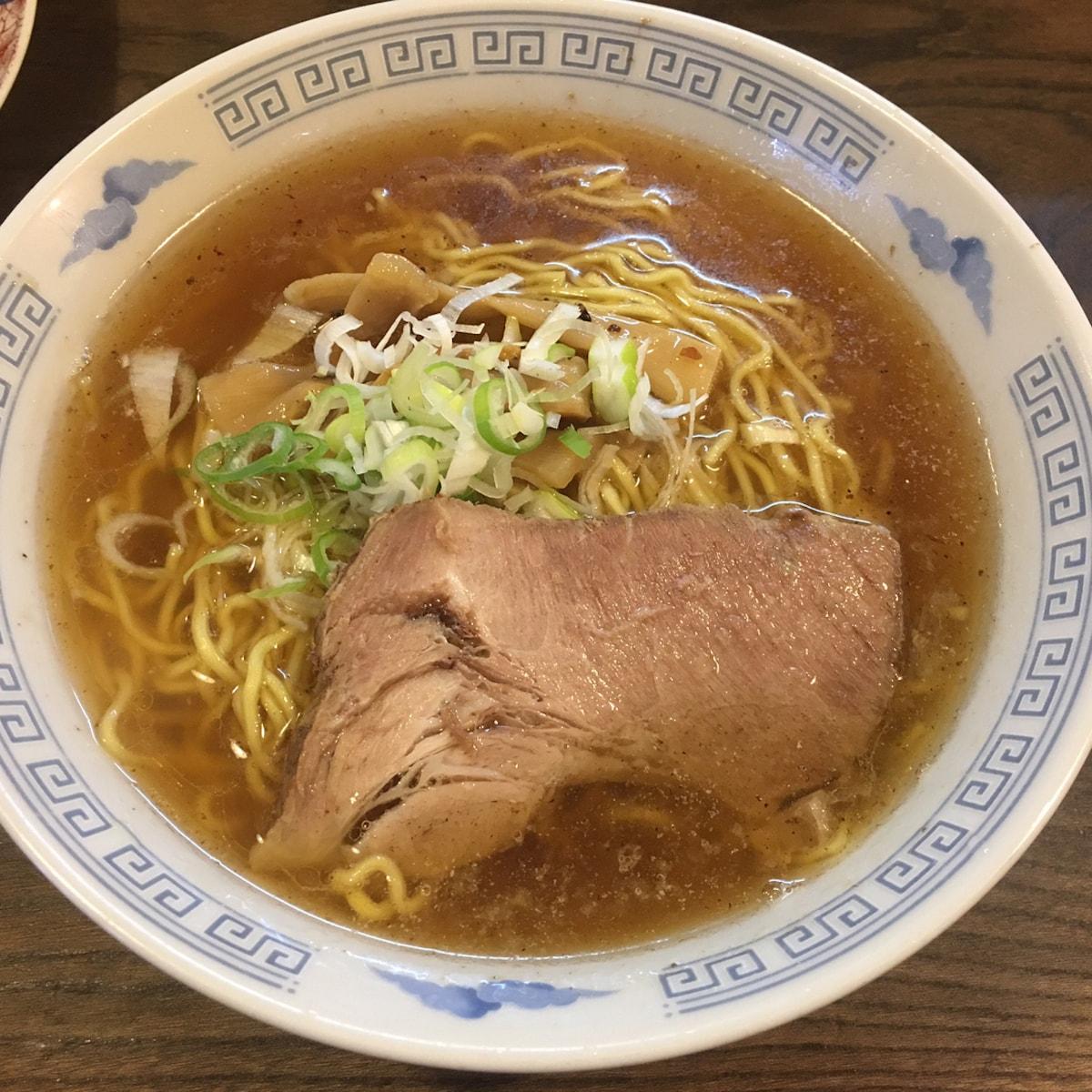 【玉川學園】古民宅的王道醬油拉麵|雷文