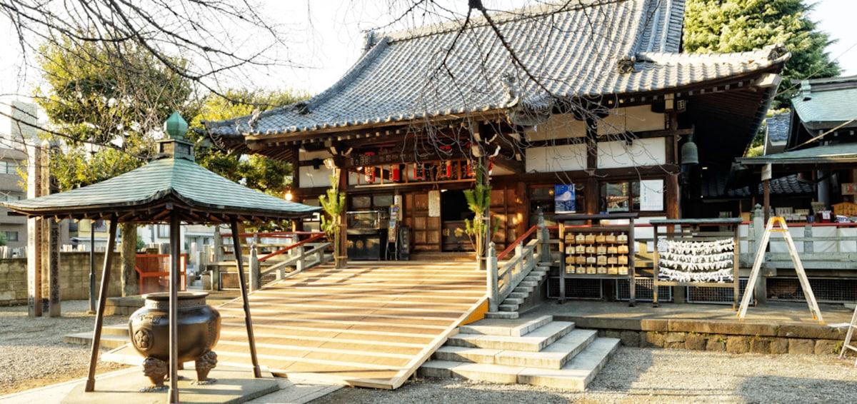 ■東京除夕敲鐘推薦1【中野】新井藥師 梅照院