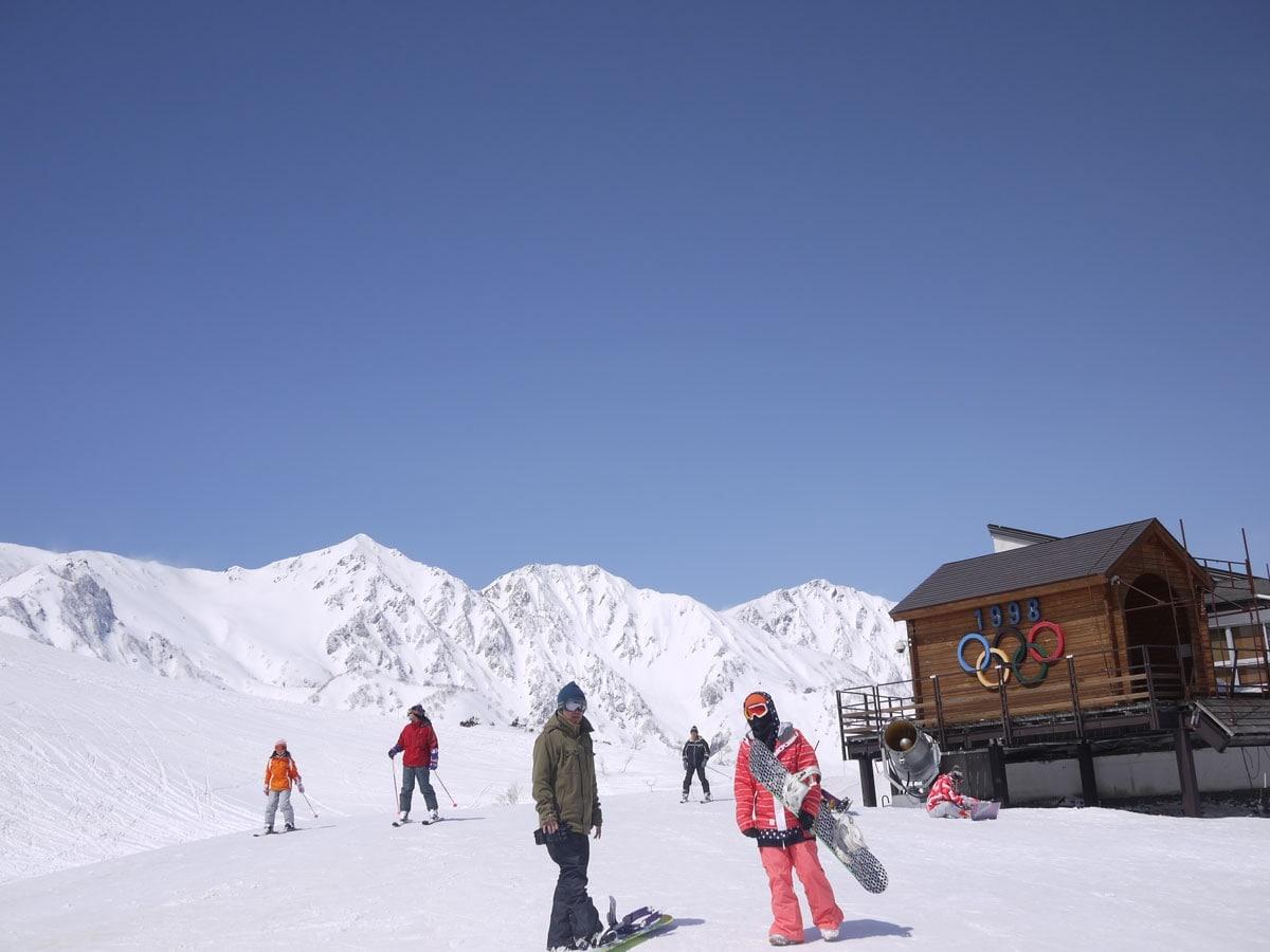 长野县|白马八方尾根滑雪场|昔日的奥运会赛场