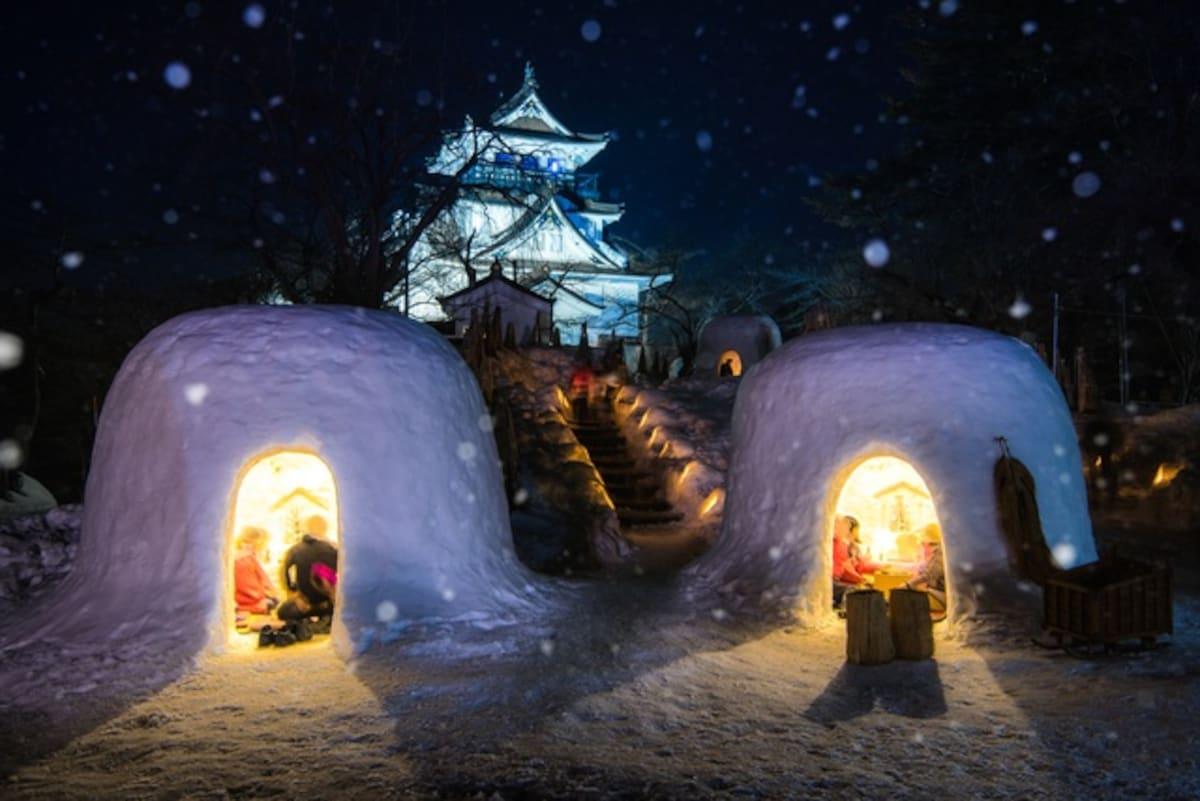 【秋田】橫手雪屋祭 (横手の雪まつり)|每年2月15日至16日