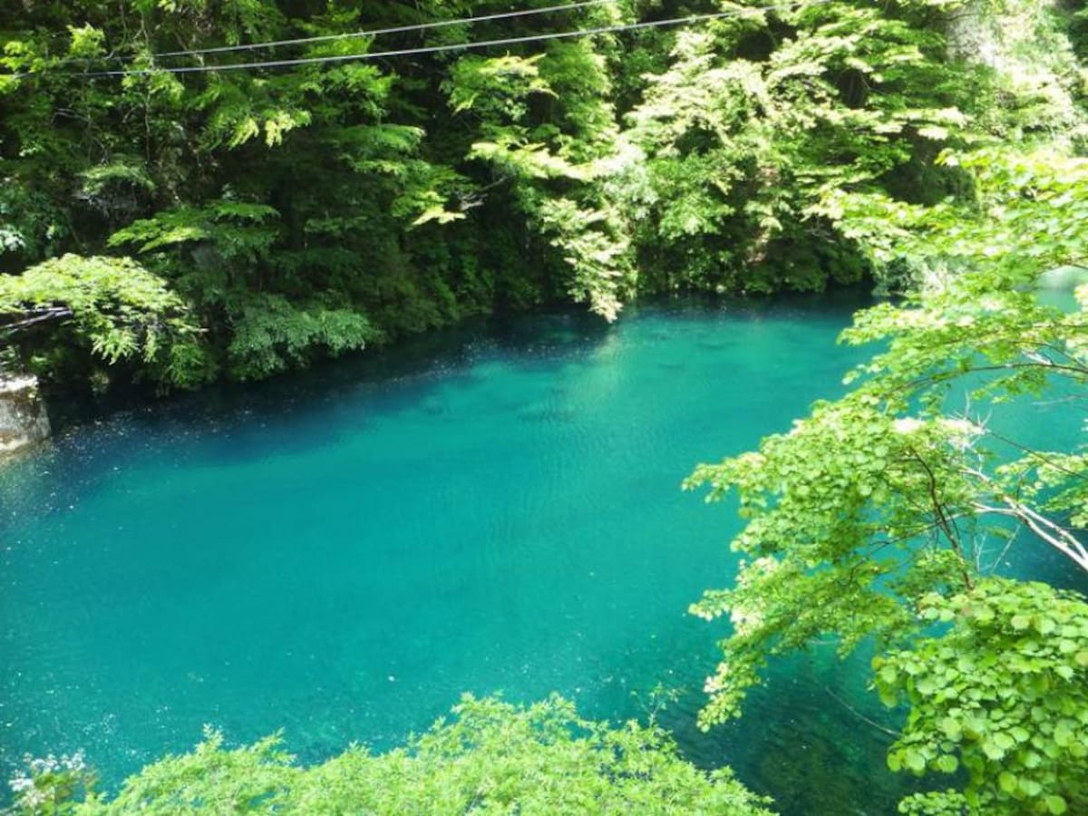 12. Amazing emerald green at Yushin Ravines