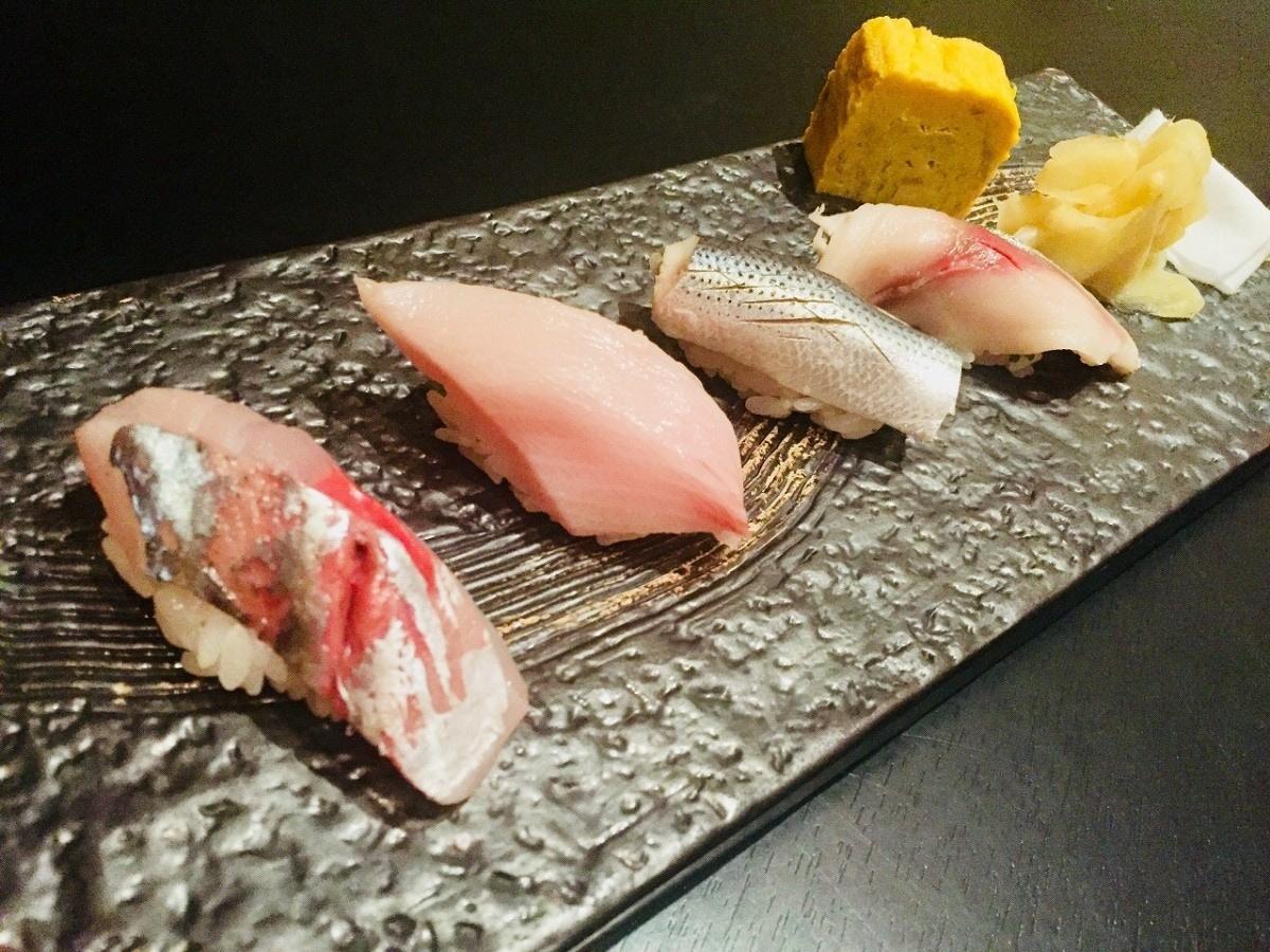 在上海代表的高级寿司店--前川