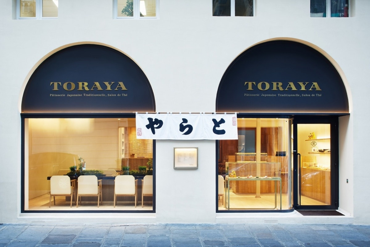 TORAYA — you can be enjoyed freshly created Japanese sweets