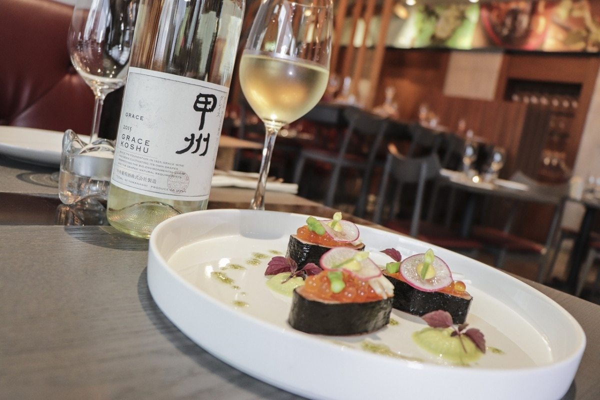 Le bistro Winebeast — Using Japanese Ingredients for French Cuisine
