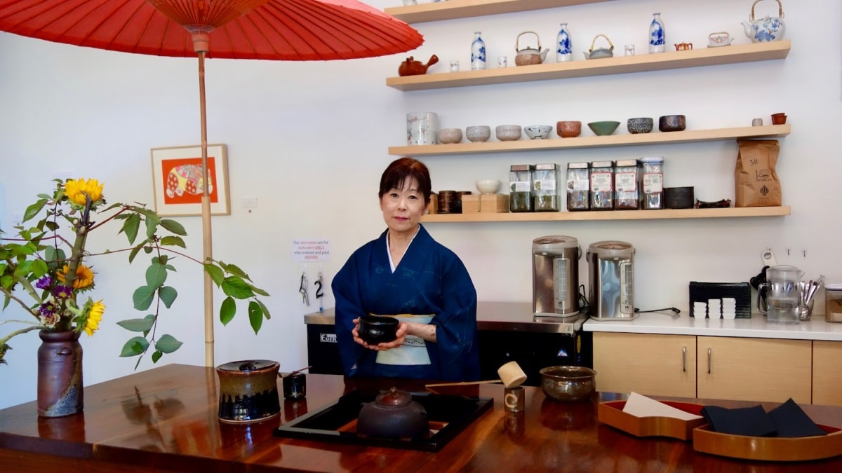 Behind the Museum Café — Learn All About Japanese Culture