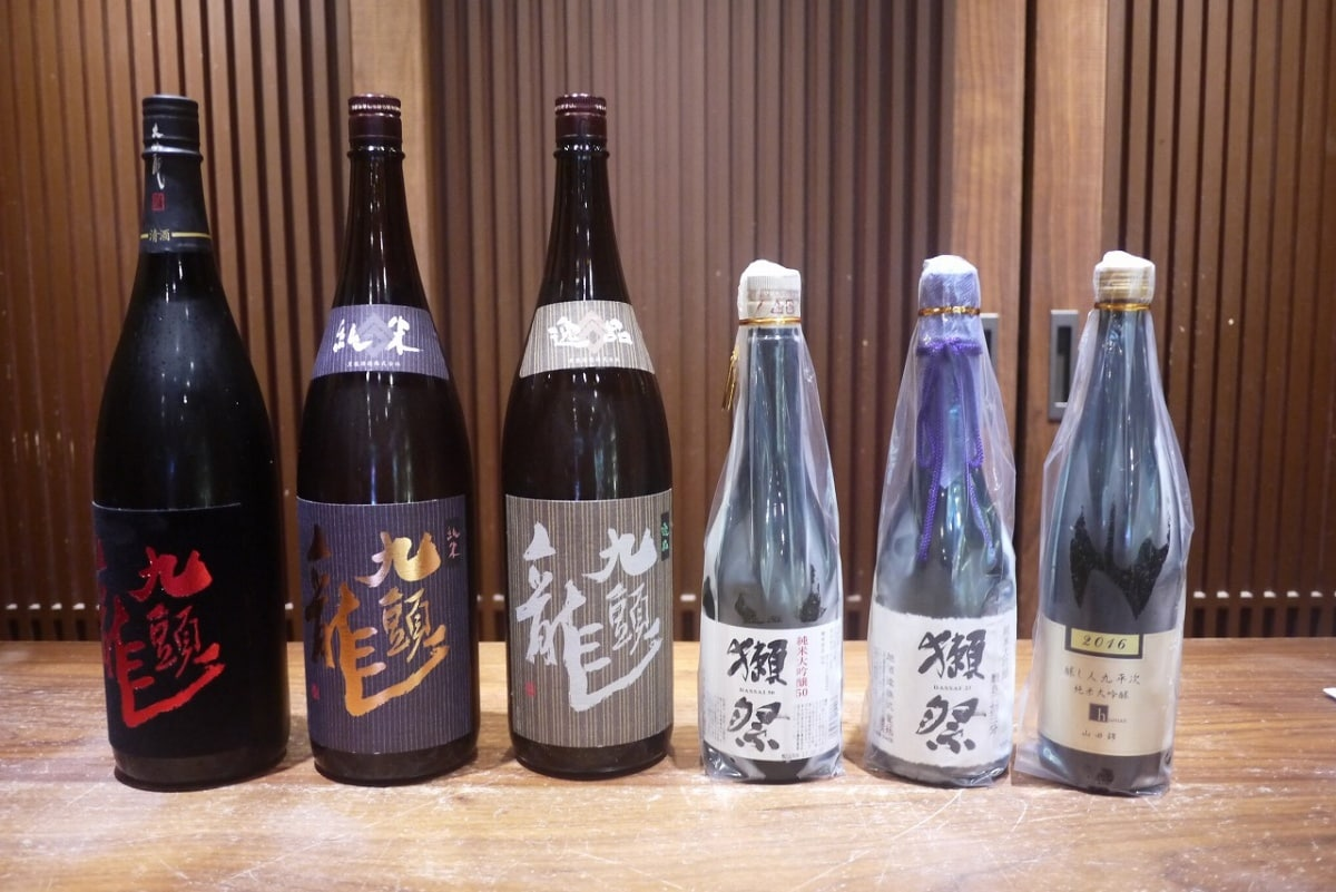 SAKA.YA — Home to Over 100 Different Kinds of Japanese Liquor