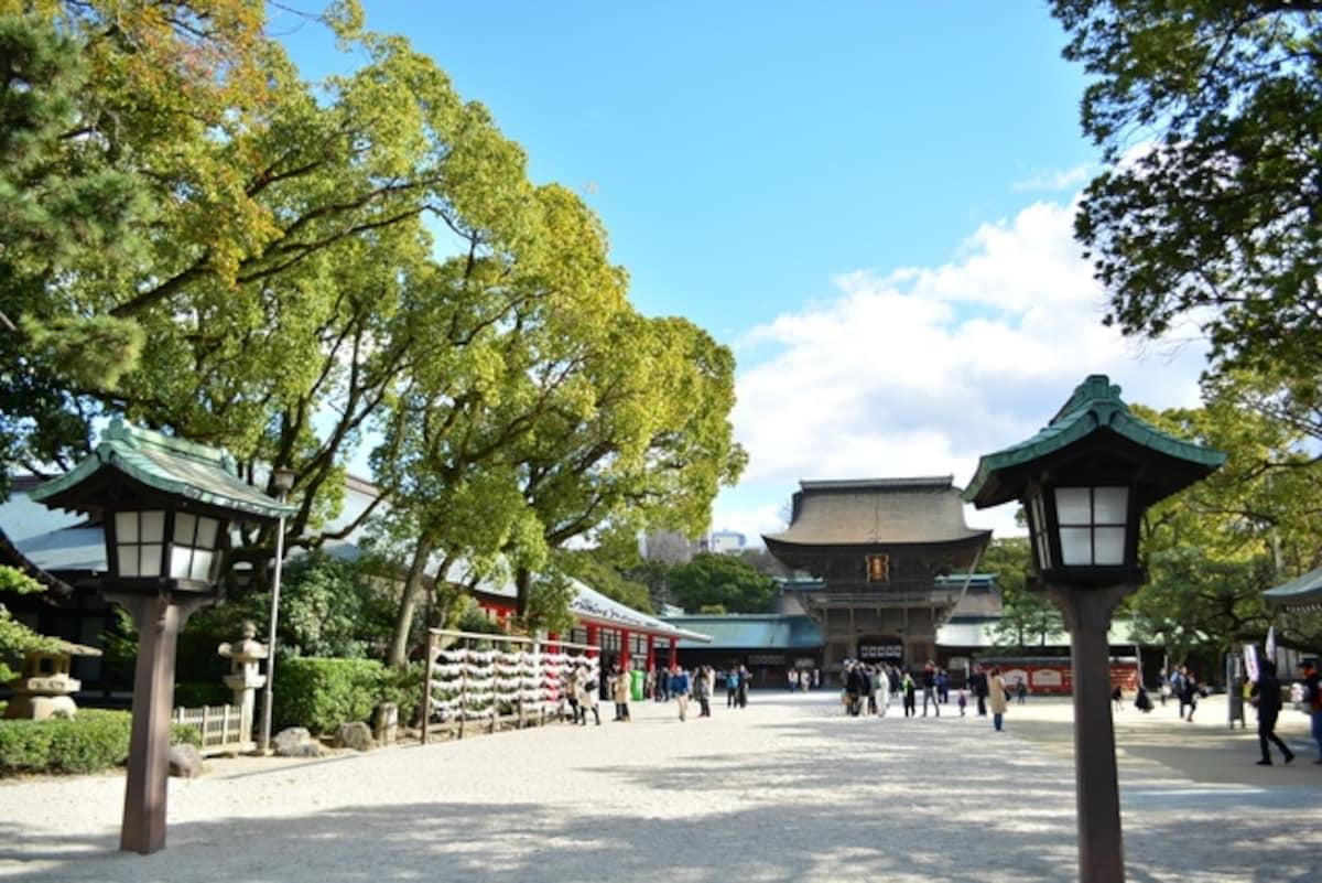▍福岡:筥崎宮
