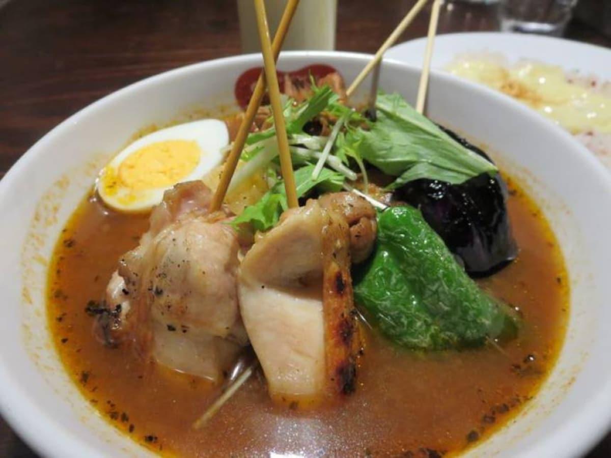 15. Unique Soup Curry at Suage+