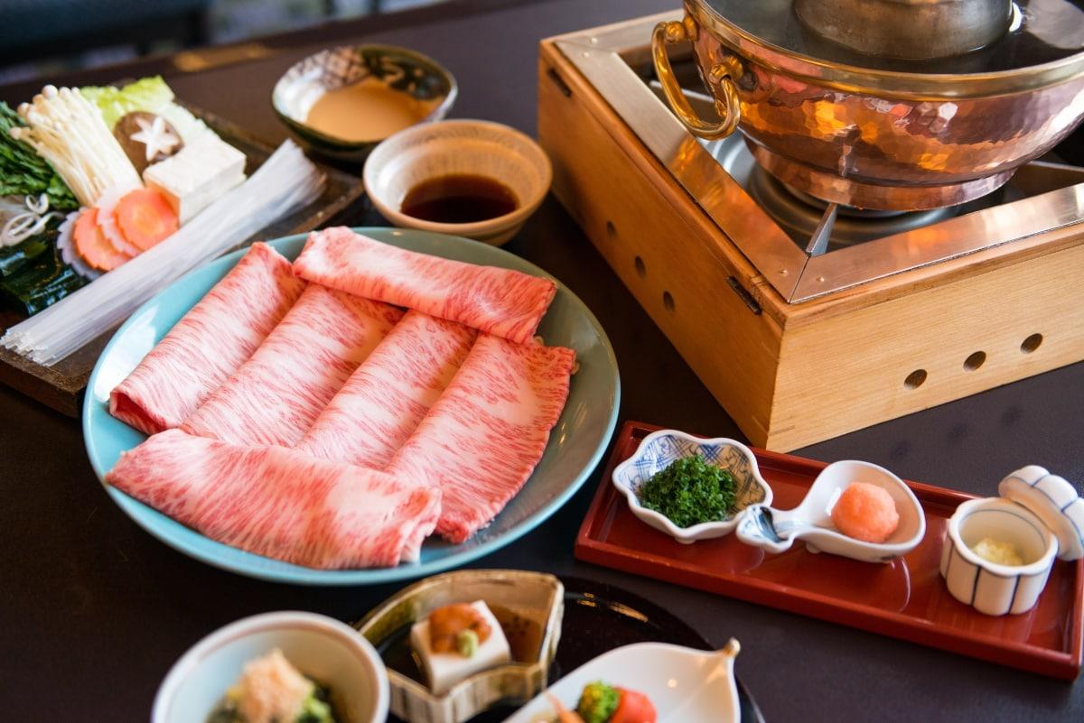 日本和牛涮涮鍋必備食材