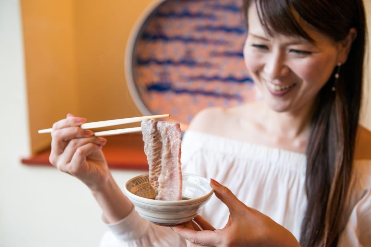 日本正統涮涮鍋吃法