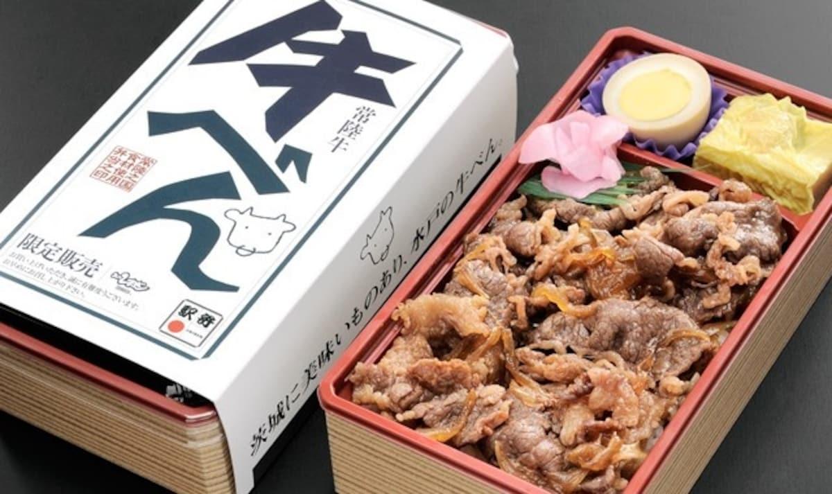 日本和牛火車便當推薦1|體驗滿口鮮濃肉汁:茨城縣常陸牛便當