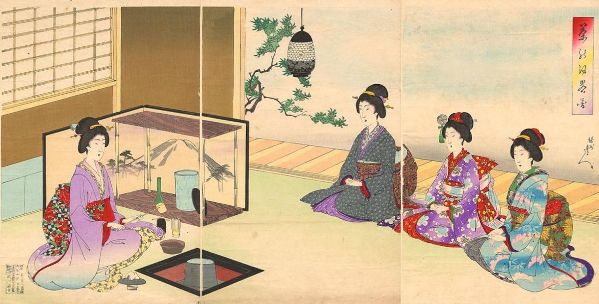 일본 차 문화의 유래