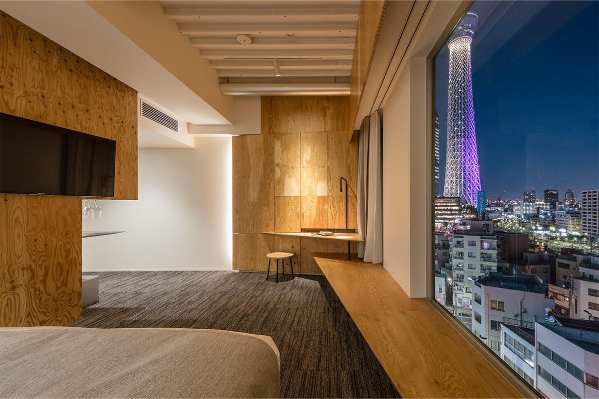 來自建築大師的設計旅館|ONE@Tokyo