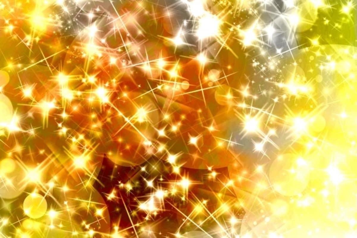 6. 'Pika-pika' (bright, sparkling, shiny, glistening )