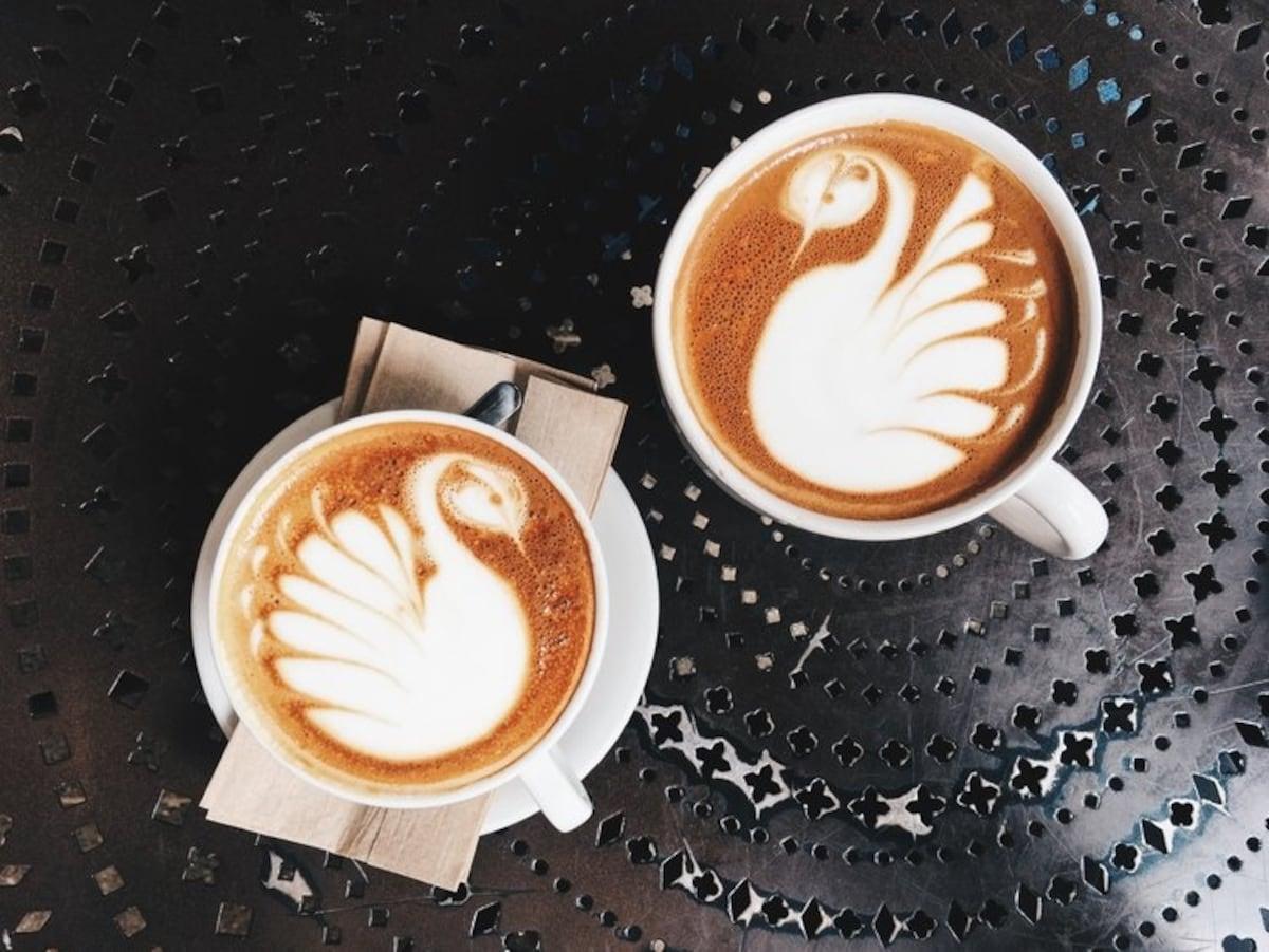 100% 유기농 커피 원두만 사용하는 커피 전문점