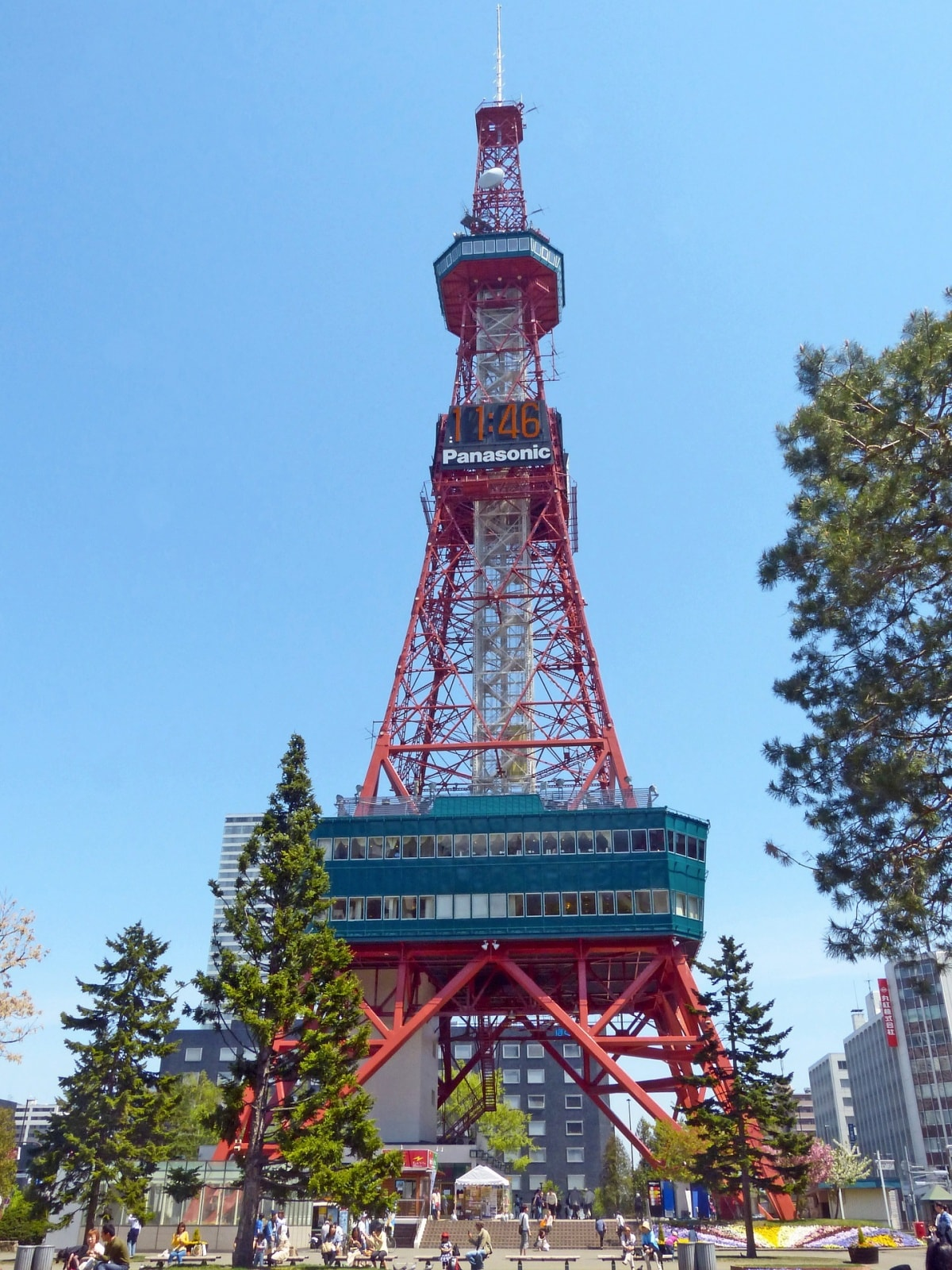 1. ซัปโปโรทีวีทาวเวอร์ (Sapporo TV Tower)
