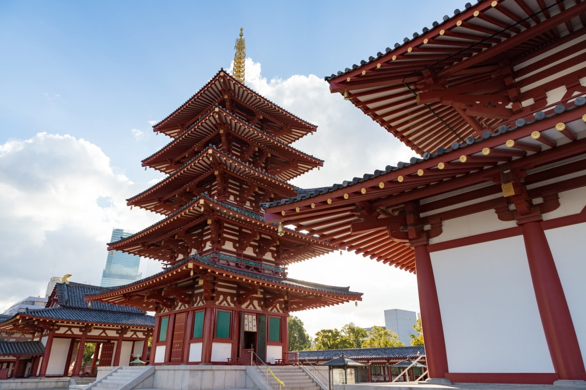 1. Koreans Built Japan's First Temples (593)