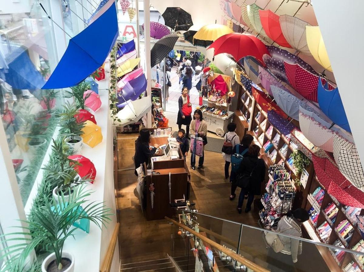 小資族最愛的雨傘圖書館|water-front自由之丘