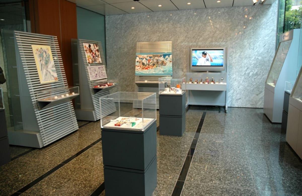 关卡3: 集英社展览室