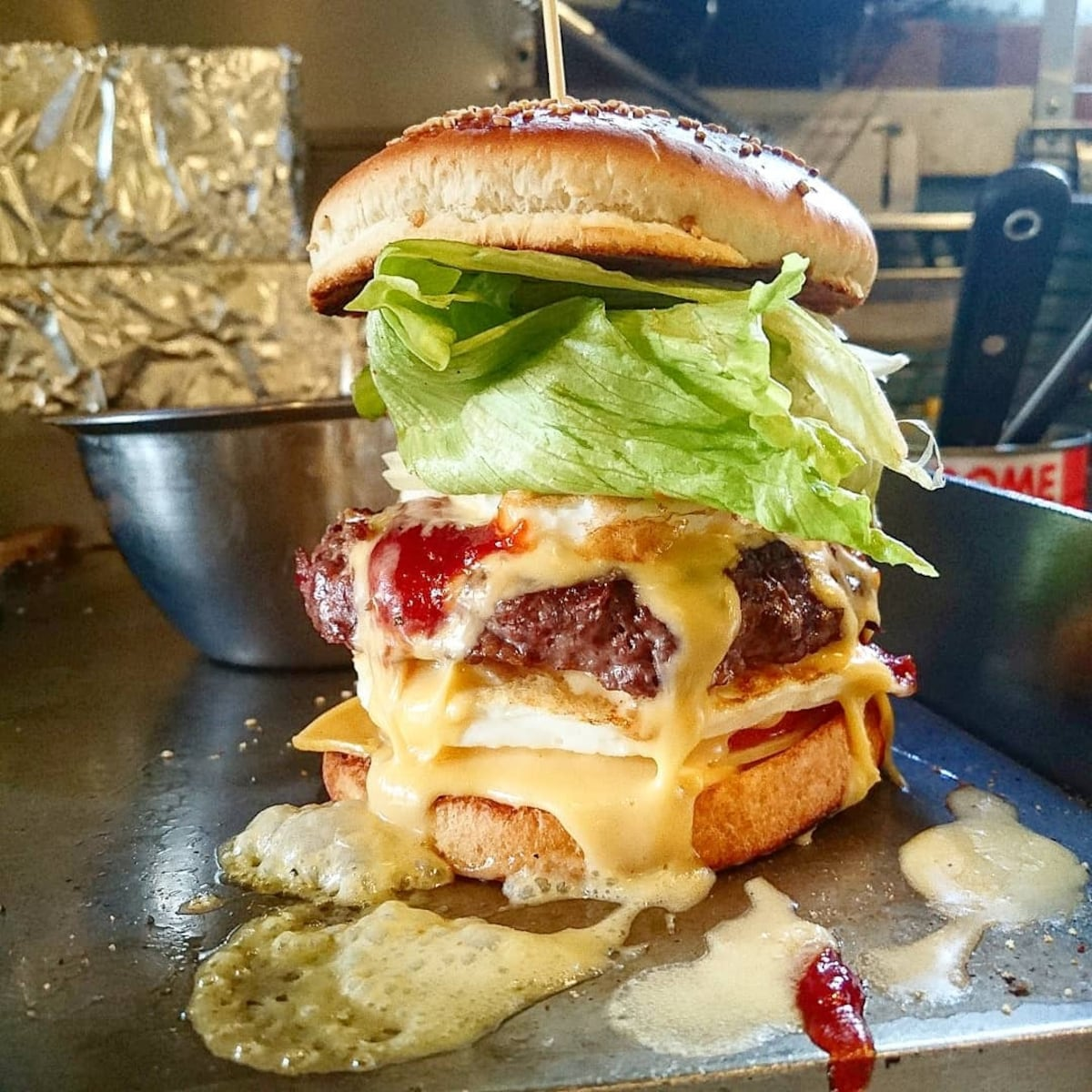 「BAKER BOUNCE」爆漿多汁的自家製手工漢堡
