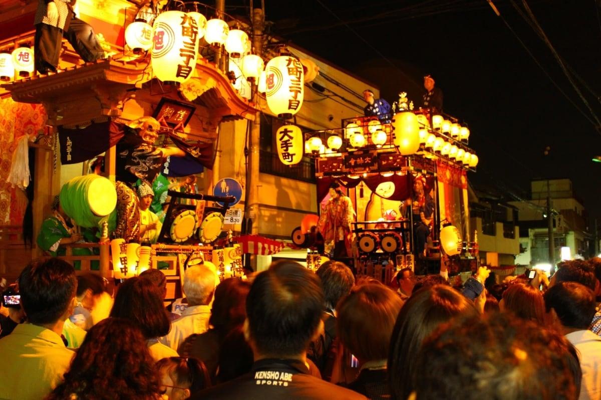 카와고에 축제(川越まつり): 2018년10월20일~21일