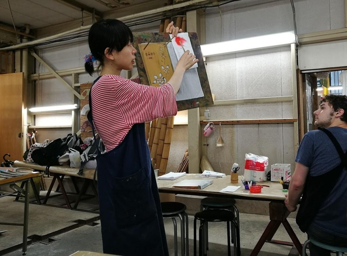 10. Stencil & Dye a Kimono