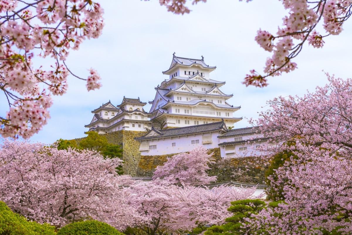 1. ปราสาทฮิเมจิ (Himeji Castle)