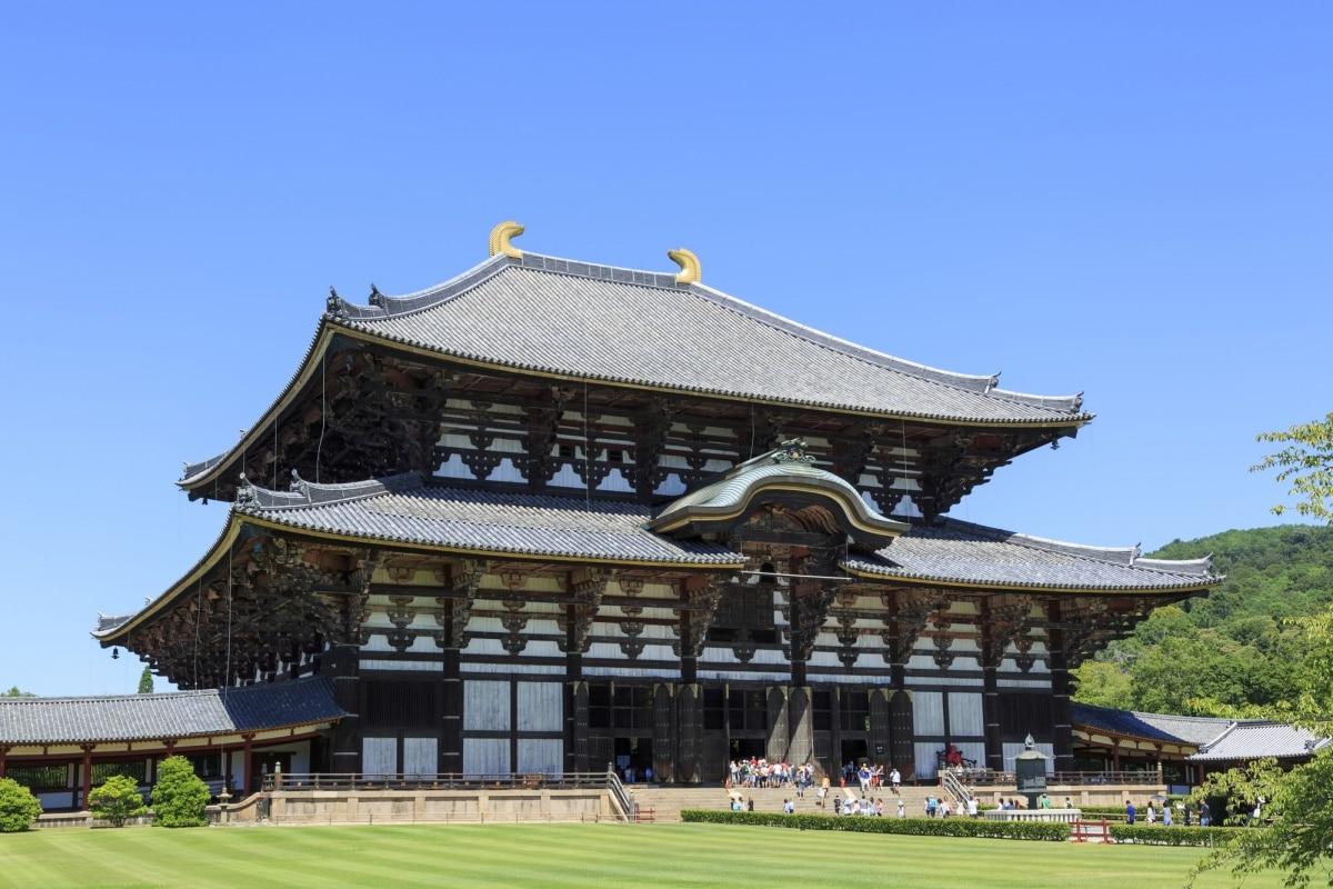 1. วัดโทไดจิ หลวงพ่อโตและอาคารไม้ใหญ่ที่สุดในโลก (Todaiji Temple)