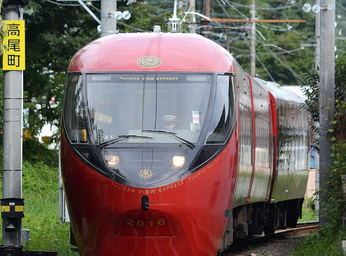 1. FUJISAN VIEW EXPRESS - รถไฟชมวิวฟูจิสุดหรู