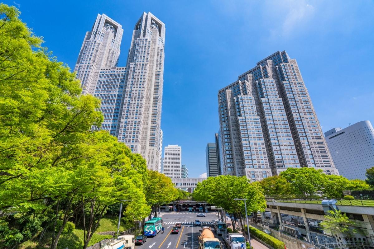 1.อาคารศาลาว่าการกรุงโตเกียว : ชมวิวเมืองสุดโรแมนซ์แบบ360องศา