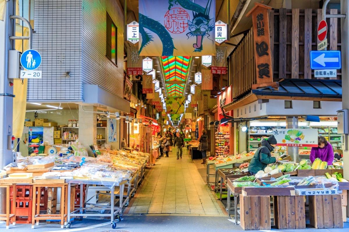 錦小路通|舌尖上的京都