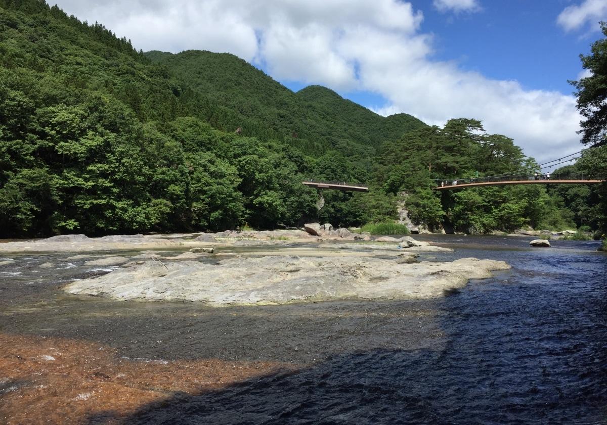 เริ่มต้นที่ น้ำตกฟูคิวาเระ โนะ ทาคิ (Fukiware no taki)
