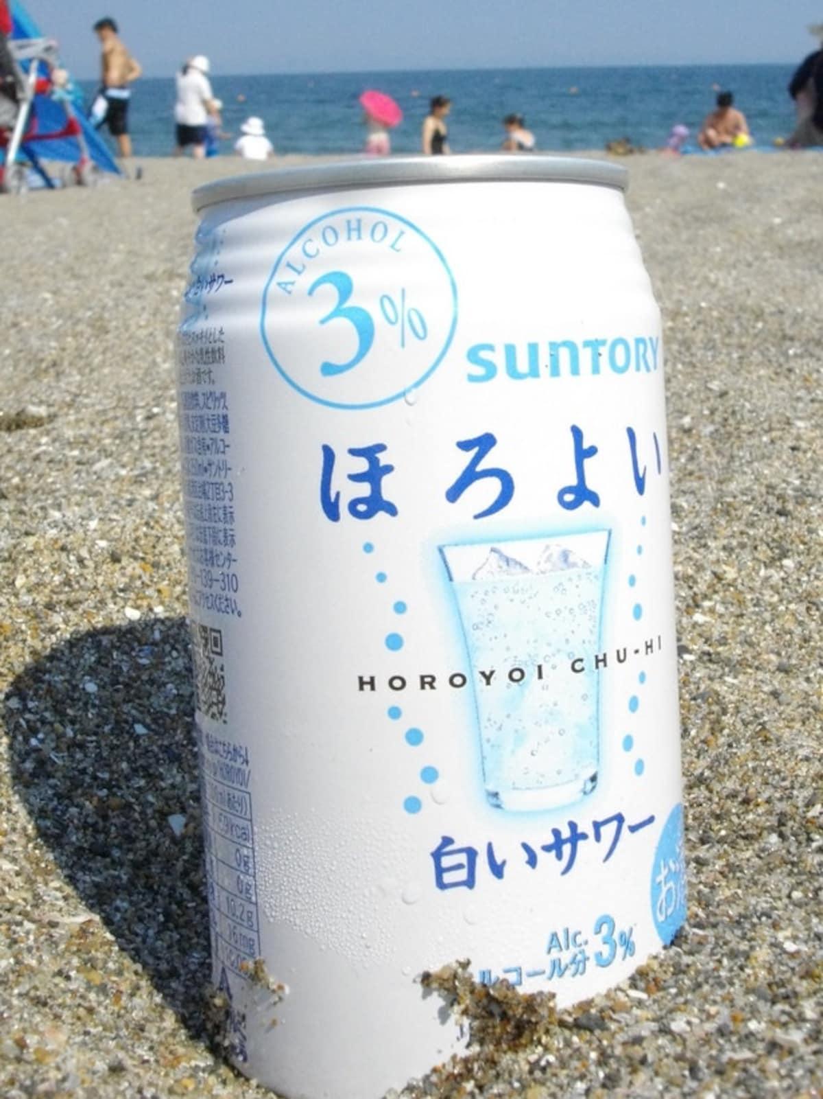 三得利出品的經典調味酒|Horoyoi 白色沙瓦ほろよい〈ほろよい 白い沙瓦ほろよい〉