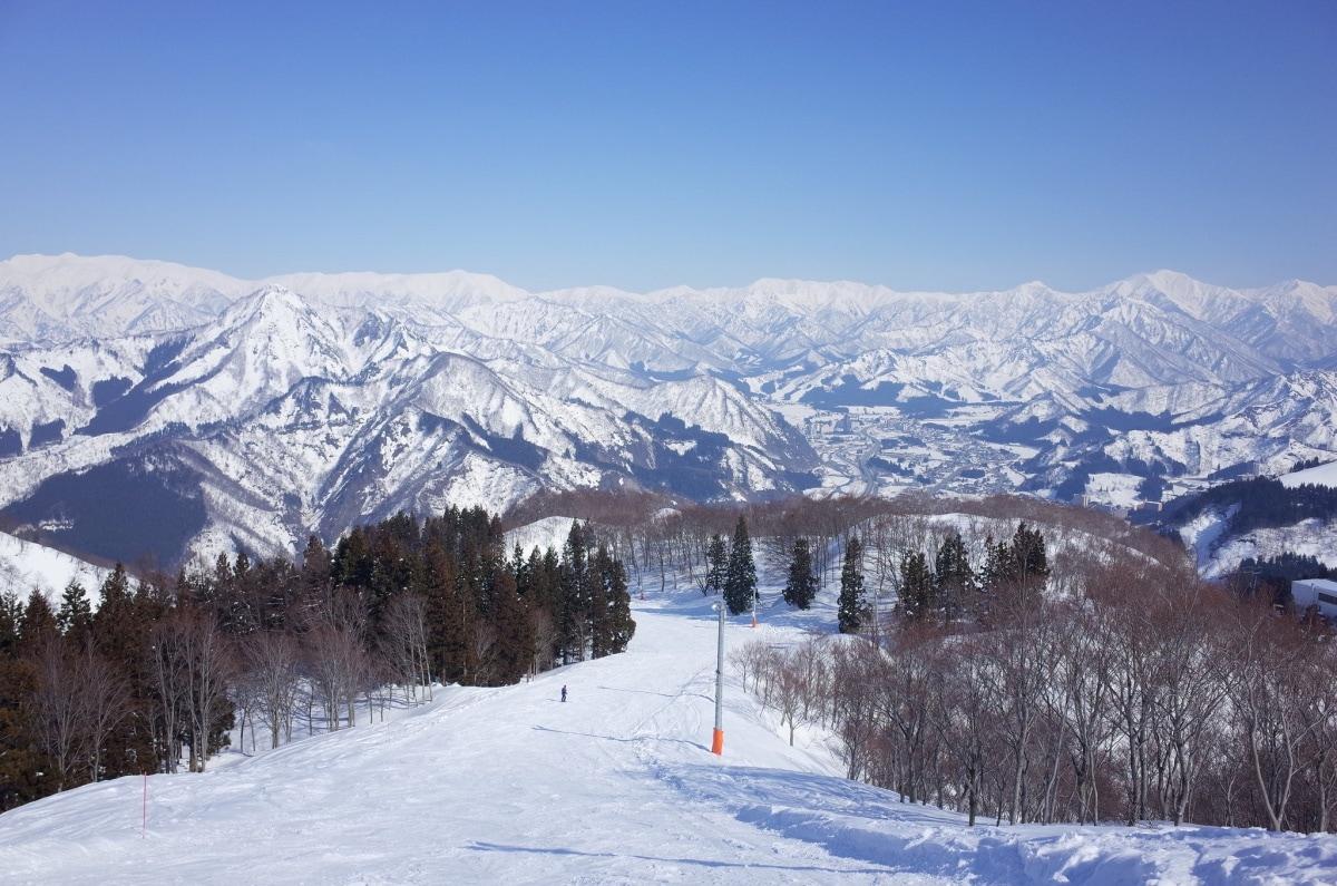 1. ลานสกีกาล่า ยูซาว่า จ.นีงาตะ (Gala Yuzawa, Niigata)