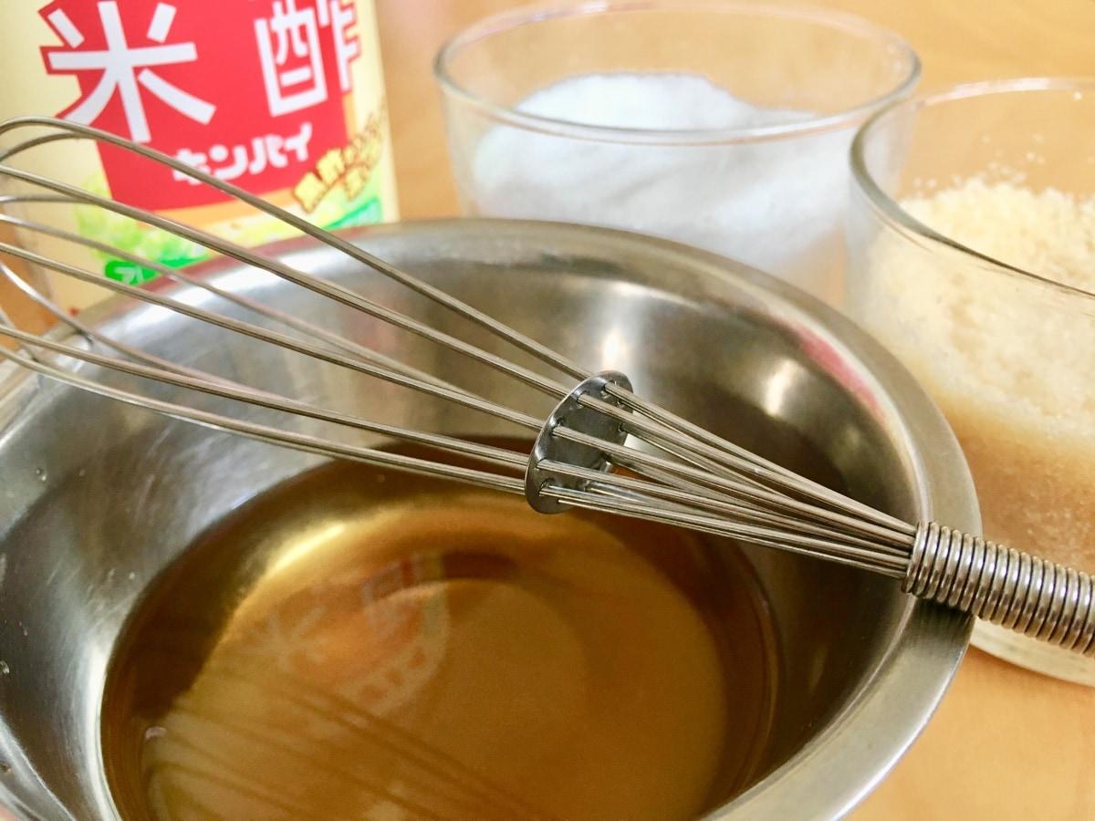 สูตรน้ำส้มสายชูปรุงซูชิ