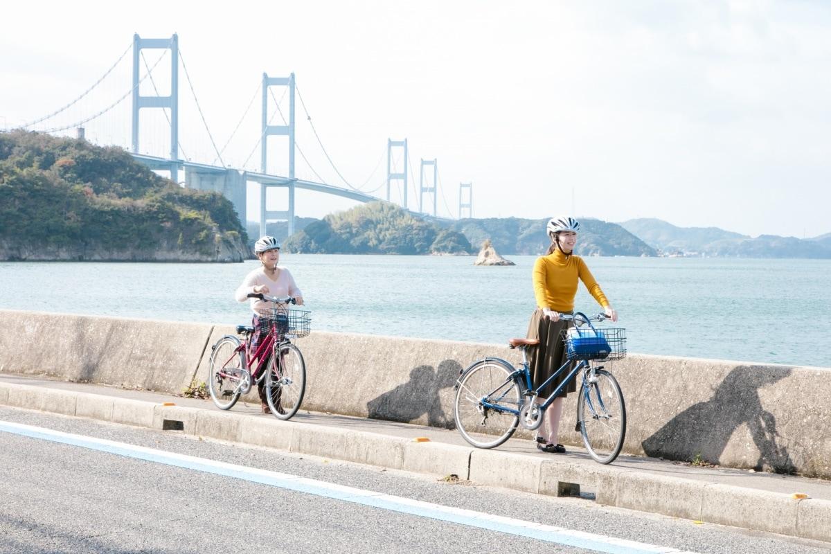 1. เส้นทางจักรยานเซโตะอุจิ ชิมานามิไคโด, เอฮิเมะ-ฮิโรชิมา (Setouchi Shimanami Kaido, Ehime-Hiroshima)