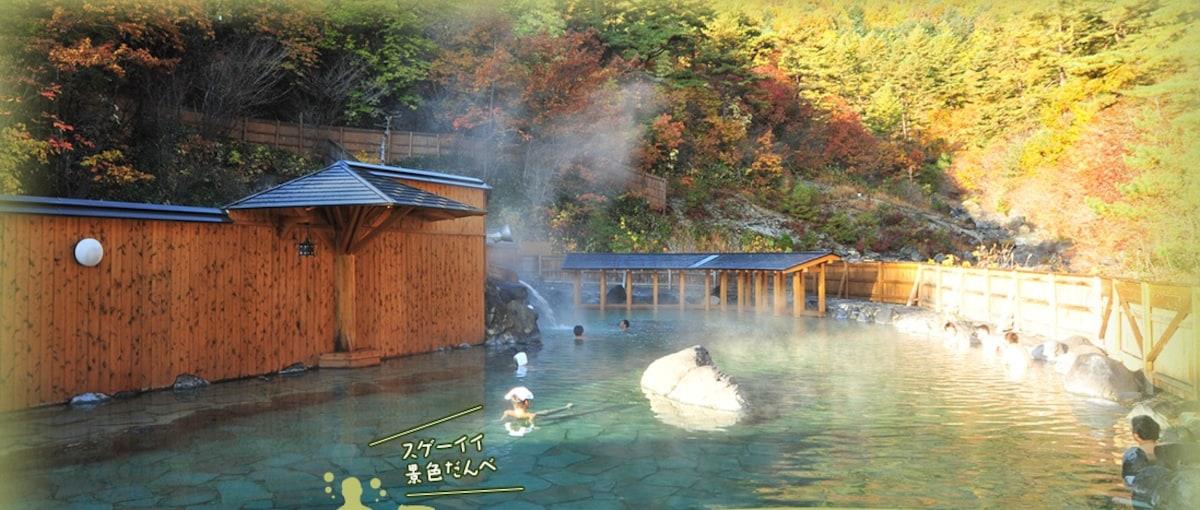 6 Sainokawara Open-Air Bath (Gunma)