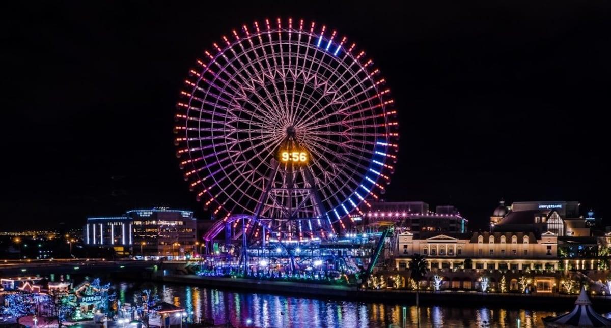 1 ชิงช้าสวรรค์ Cosmo Clock 21 (Yokohama)